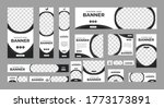set of modern web banners of... | Shutterstock .eps vector #1773173891