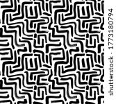 geometric vector seamless... | Shutterstock .eps vector #1773180794