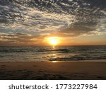 Sunset At Scarborough Beach In...