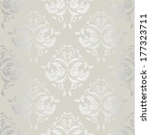seamless wallpaper.damask... | Shutterstock .eps vector #177323711