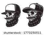 illustration of bearded skull...   Shutterstock .eps vector #1773250511