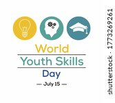 World Youth Skills Day Vector....