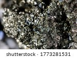 amazing natural pyrite mineral... | Shutterstock . vector #1773281531
