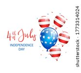independence day theme....   Shutterstock . vector #1773314024