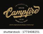 """campfire"". original brush... | Shutterstock .eps vector #1773408251"
