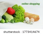 online shopping label with an... | Shutterstock . vector #1773414674