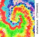 vector spiral pattern.... | Shutterstock .eps vector #1773444401