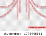 holiday flower garlands. set of ...   Shutterstock .eps vector #1773448961