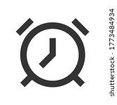 alarm clock line icon for web ...   Shutterstock .eps vector #1773484934