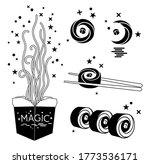 sushi icon  noodles  logo ... | Shutterstock .eps vector #1773536171