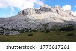 Summer Landscape Of The Alps O...