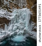A Partially Frozen Waterfall I...