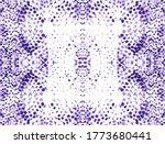 Python Print Seamless. Violet...