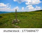 Trail Post On Appalachian Trai...