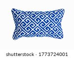 Decorative rectangular pillow ...
