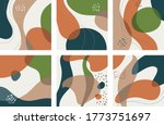 hand drawn various shapes and...   Shutterstock .eps vector #1773751697