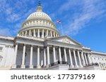washington dc  capital city of... | Shutterstock . vector #177379169
