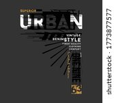 Urban Street Stylish Text Fram...