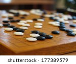 japanese game. renju. | Shutterstock . vector #177389579