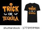 trick or tequila halloween ...   Shutterstock .eps vector #1773959984