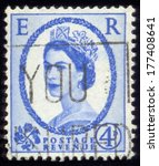 united kingdom   circa 1953  a...   Shutterstock . vector #177408641
