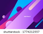 modern abstract background with ... | Shutterstock .eps vector #1774212557