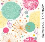 seamless decorative pattern...   Shutterstock .eps vector #177428909