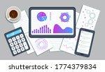 risk management and assessment... | Shutterstock .eps vector #1774379834