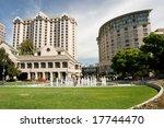 plaza de cesar chavez is a... | Shutterstock . vector #17744470