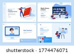 web page design templates of... | Shutterstock .eps vector #1774476071