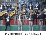 Small photo of A mariachi band performs for the Clinton/Gore 1992 campaign, San Antonio, TX