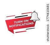 turn on notification button...