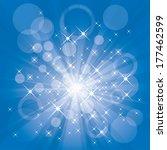 burst vector background. | Shutterstock .eps vector #177462599