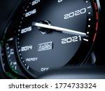 2021 Year Car Speedometer...
