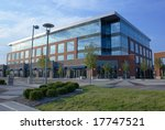 modern office building   Shutterstock . vector #17747521