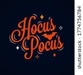Hocus Pocus Lettering....