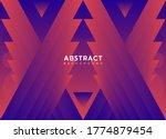 abstract background vector... | Shutterstock .eps vector #1774879454