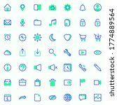 basic ui vector icons set ...