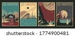 retro future space journey's... | Shutterstock .eps vector #1774900481