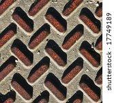 Worn Grunge Metal Texture With...