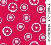 red abstract circles   seamless ... | Shutterstock .eps vector #1774930571