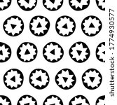 abstract circles   seamless... | Shutterstock .eps vector #1774930577