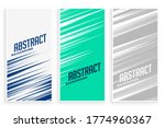 abstract banners with fast... | Shutterstock .eps vector #1774960367