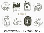 beauty occult logo collection... | Shutterstock .eps vector #1775002547