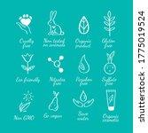 eco friendly  ecology vector... | Shutterstock .eps vector #1775019524