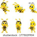 illustration of cute cartoon... | Shutterstock .eps vector #1775029904