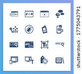 webdesign icon set and visual...