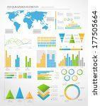 set of infographic elements....   Shutterstock .eps vector #177505664