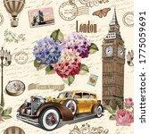 Seamless London Vintage ...