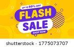 flash sale banner  special... | Shutterstock .eps vector #1775073707